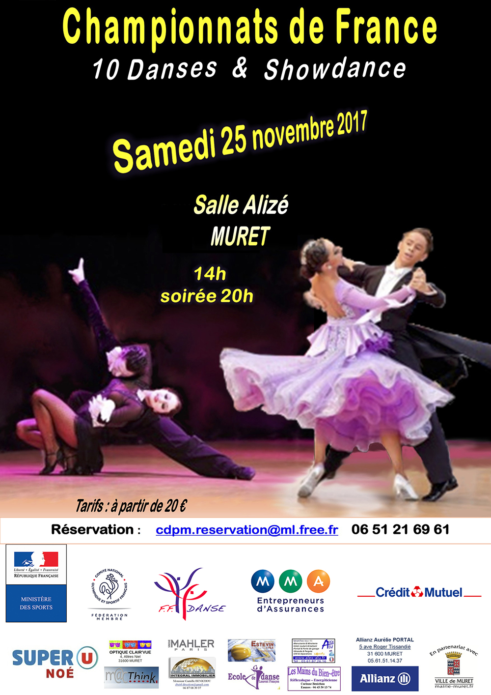 AFFICHE champ 10 danse NvlleCharte 2