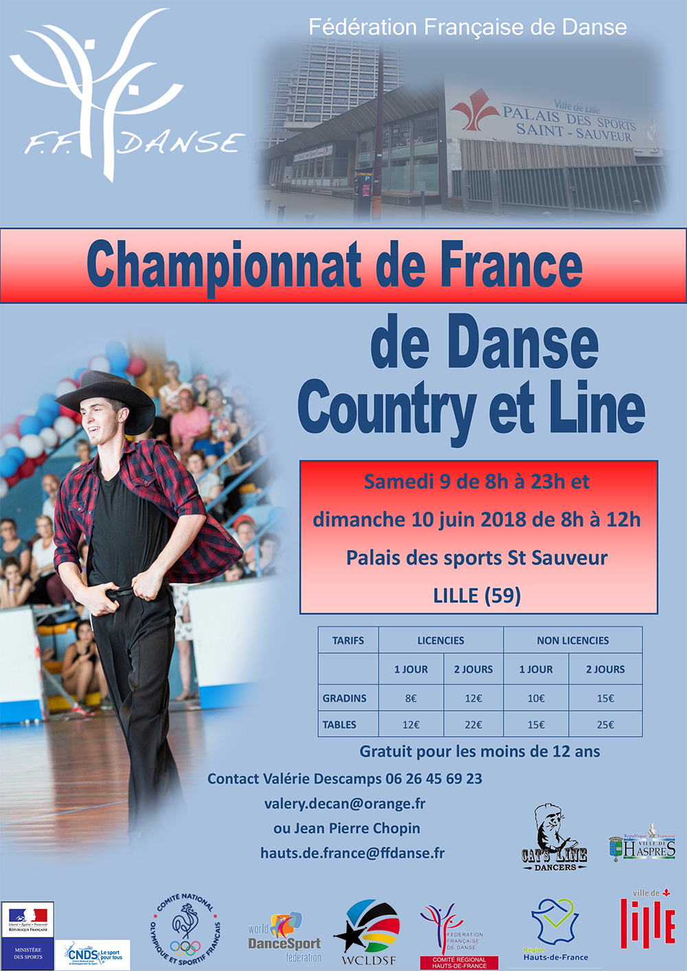 affiche Country finale 2018