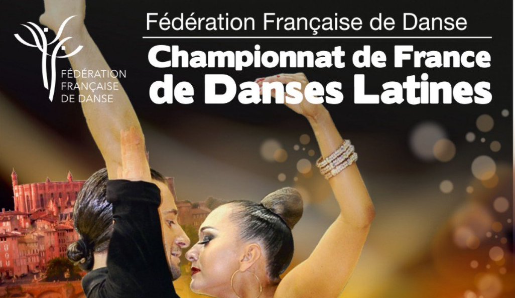 Championnat de France danses latines 2019