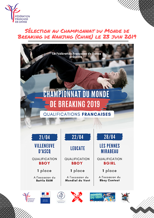 2 Selection Championnat du Monde Breaking Martin 2
