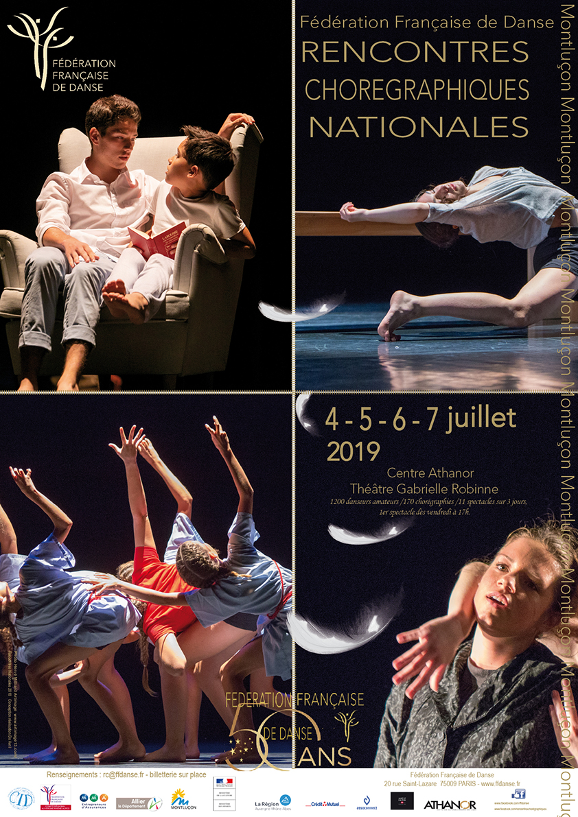 Affiche A3 4 Rencontres Choré Nationales 2019 super legere